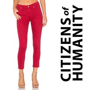 HP 🌸CITIZENS OF HUMANITY Jeans Rocket Crop Skinny